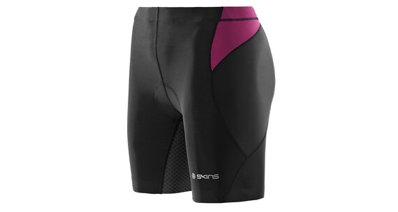 Skins TRI400 Women's Shorts black/orchid